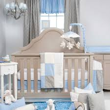 Nursery Bedding Sets Boy by Amazon Com Glenna Jean Starlight 3 Piece Crib Bedding Set Blue