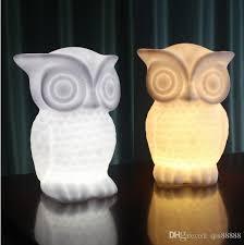 owl led light household decorations atmosphere eye