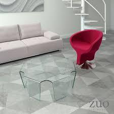 viviana coffee table whiteline metropolitandecor