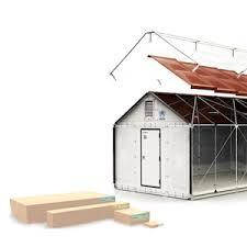 ikea flat pack house details diagrams 1 000 ikea flat pack refugee shelter urbanist