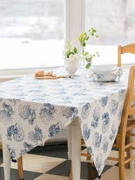 Coffee Table Cloth by Backyard Rooster Tablecloth Linens U0026 Kitchen Tablecloths