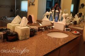 Bathroom Counter Organizers Bathroom Organization Cable Management Pretty Neat Living