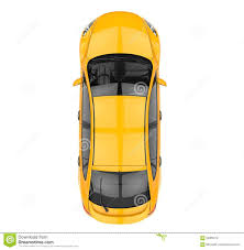 vehicle top view yellow car top view stock illustration image 59005679