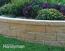 basic retaining wall block inspiring garden and landscape photos