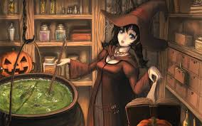 anime halloween 806817 walldevil
