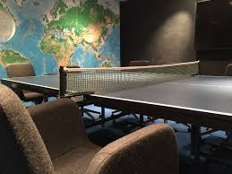 Table Tennis Boardroom Table Office Hack 11 The Ping Pong Boardroom Table Envoy