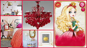 ever after high bedroom decorating ideas royals and rebels