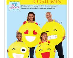 Emoticon Costume Halloween Emoji Costume Etsy