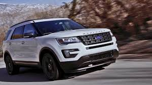 Ford Explorer White - 2017 ford explorer xlt sport appearance package youtube