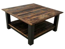 Barn Wood Coffee Table Reclaimed Barnwood Black Steel Coffee Table Echo Peak Design