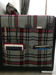 Armchair Sewing Caddy Pattern Remote Control And Magazine Holder For Couch Recipes To Cook