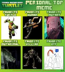 Personal Meme - tmnt personal top meme by wolfsonic602 on deviantart