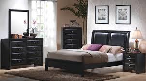 coaster bedroom set 6 piece bedroom set in black finish by coaster 200701
