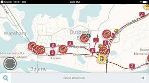 traffic apps lead to neighborhood hassles news capecodtimes