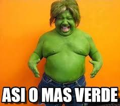 Memes De Hulk - asi o mas verde funny hulk meme on memegen