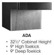 why do cabinets a toe kick ada kitchen cabinets wholesale cabinet supply