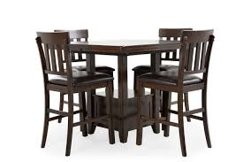 ashley haddigan five piece counter set mathis brothers furniture
