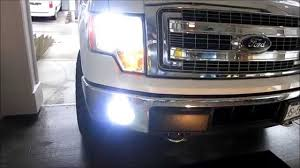 2013 ford f150 fog light replacement how to install hid fog lights h10 ford f150 2014 youtube