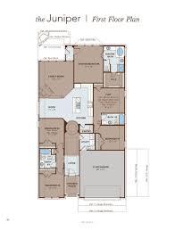 Amphitheater Floor Plan by Juniper Home Plan By Gehan Homes In Towne Lake