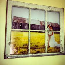 mesmeric interior room decor with diy window frame in rustic style