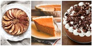 easy pie recipes thanksgiving pie recipes with 5