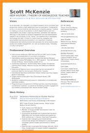 Example Of Teacher Resume by Middle Teacher Resume Sample Bio Letter Format