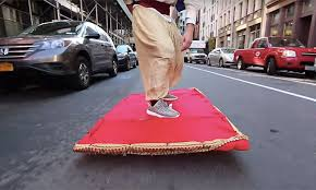Skateboard Halloween Costumes Aladdin Watch Epic Magic Carpet Ride Prank