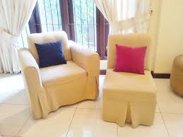 DIY Sofa Slip Covers The Complete Know How  Steps With Pictures - Slipcovers for living room chairs