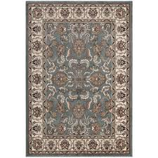 Traditional Persian Rug by Ottomanson Traditional Persian All Over Pattern Grey 3 Ft 11 In