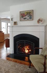 country fireplace renovation u2014 blanchard design studio