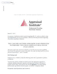 policies u0026 culture of the appraisal institute and appraisal