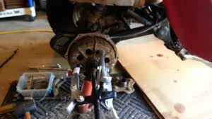 1986 honda atc 250es big red brakes part 1 youtube