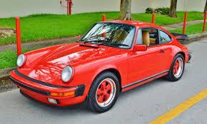 porsche 911 for sale in florida 1988 porsche 911 coupe g50 turbo fuchs