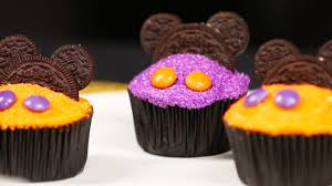Cupcake Decorating Halloween Mickey Mouse Halloween Cupcake Decorating Disney Family Youtube