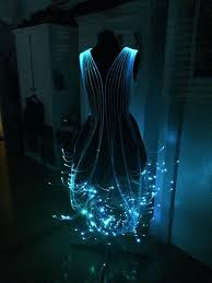 Led Light Halloween Costume fiber optic dress fiber optic dress costumes and cosplay