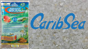 caribsea crystal river sand unboxing tank setup youtube