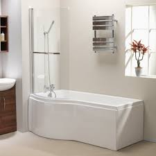 qualitex plexicor discovery shower bath front panel and screen