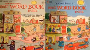 Richard Scarry U0027s Classic Children U0027s Book U0027best Word Book Ever U0027 Got