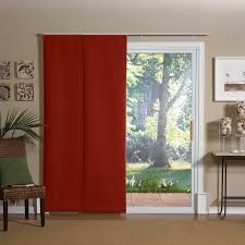 Patio Slider Door Bamboo Draperies Drapes For Patio Doors Blinds Chalet Patio