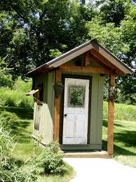 little outhouse by the pool home pinterest cabin outhouse