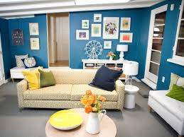 Retro Livingroom by Blue Living Room Boncville Com