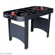 foldable air hockey table an amazingly beautiful air hockey table the 7ft riley storm 7ft air