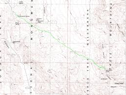 Joshua Tree California Map Joshua Tree Lost Palms And Stube Springs Loop