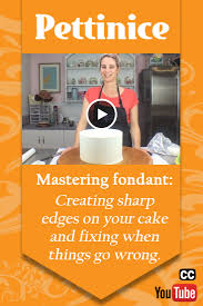 pettinice mastering fondant creating sharp edges on your cake