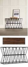Iron Sofa Table by Best 25 Narrow Table Ideas On Pinterest Very Narrow Console