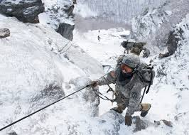 mountain warfare shows soldiers how to take fight to the