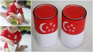 Singapore Flag Button A Happy Mum Singapore Parenting Blog