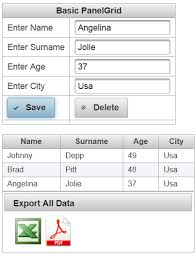 tutorial java primefaces your datatable to excel and pdf using primefaces