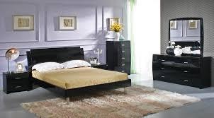 bedroom marvelous modern bedroom set in white or black leather