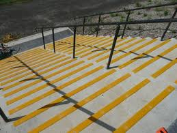 simple outdoor non slip stair treads u2014 railing stairs and kitchen